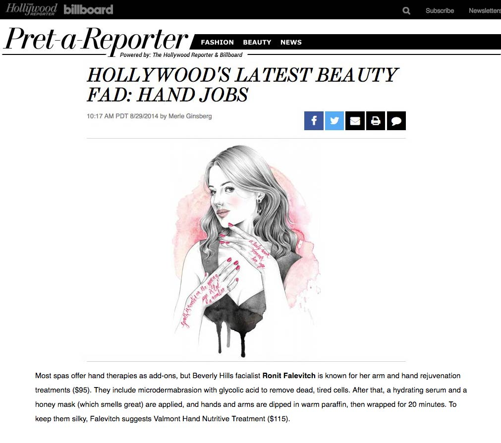 Hollywood's Latest Beauty Fad