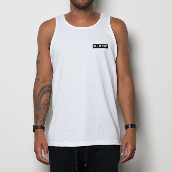 BLUEPRINT BOX TANK WHITE