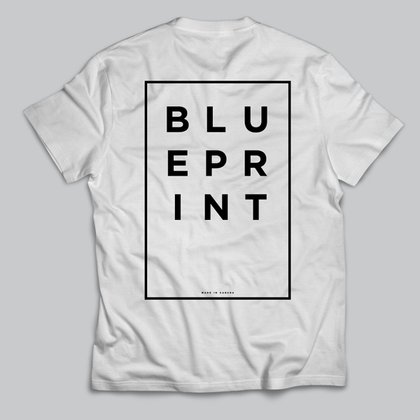 BLUEPRINT BOX T-SHIRT WHITE