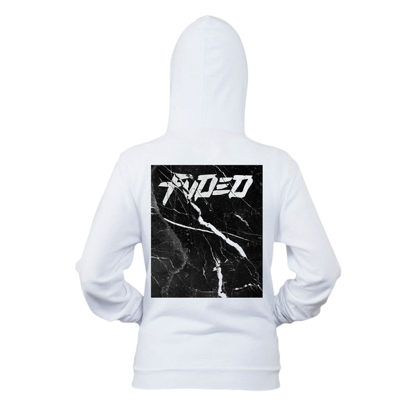 FVDED Marble California Hoodie White