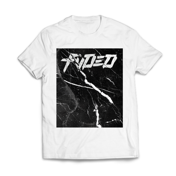 FVDED Marble T-Shirt White