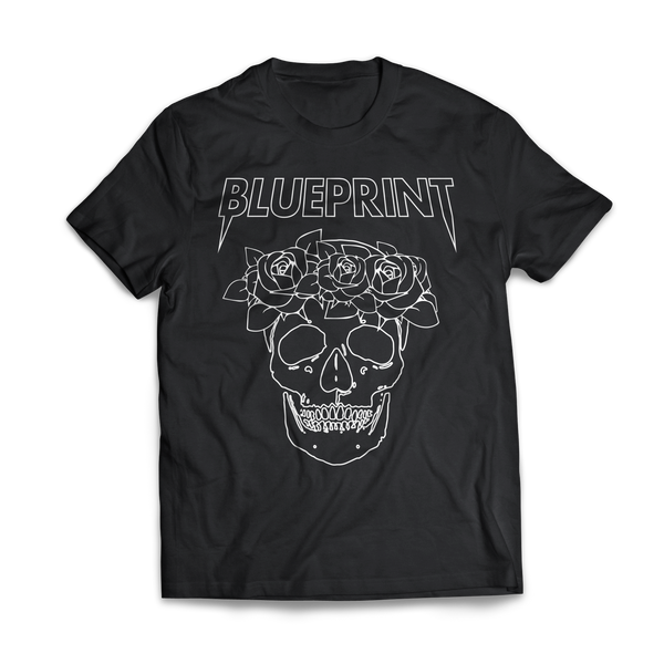 BLUEPRINT Festival Skull T-SHIRT Black