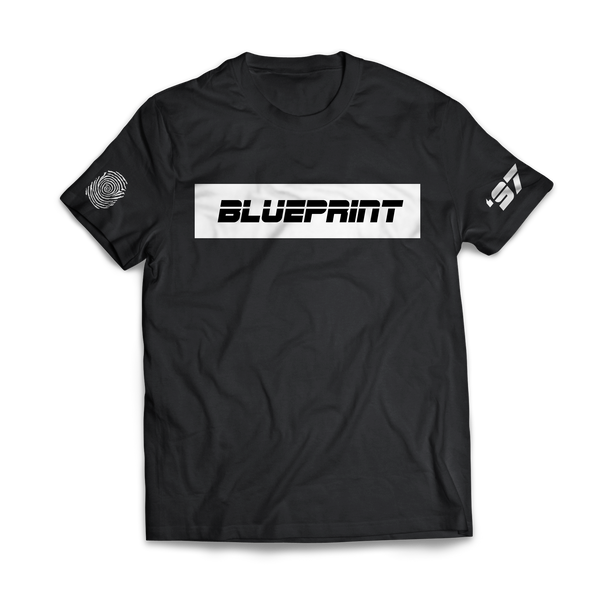 BLUEPRINT Turning Point T-SHIRT BLACK