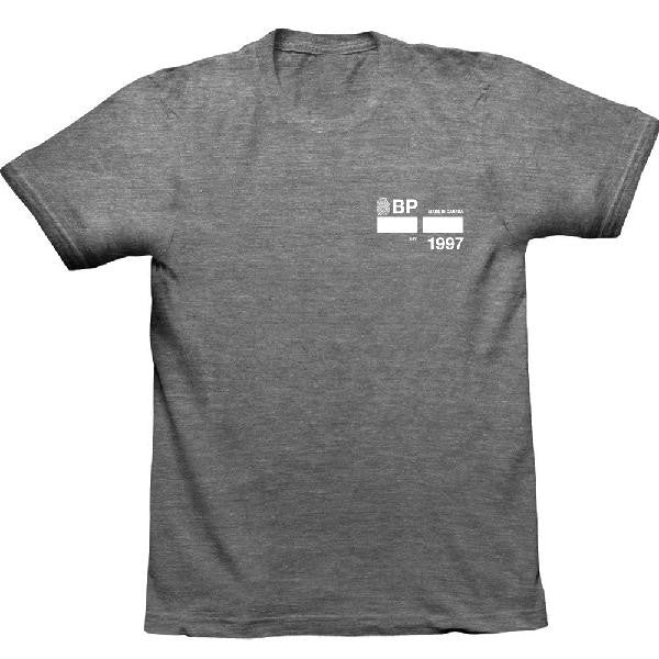 BLUEPRINT BOX T-SHIRT HEATHER GREY
