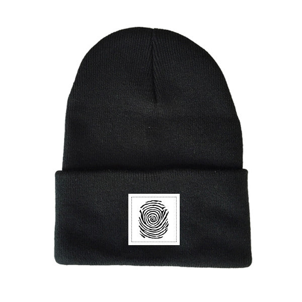 BLUEPRINT PATCH TOQUE BLACK