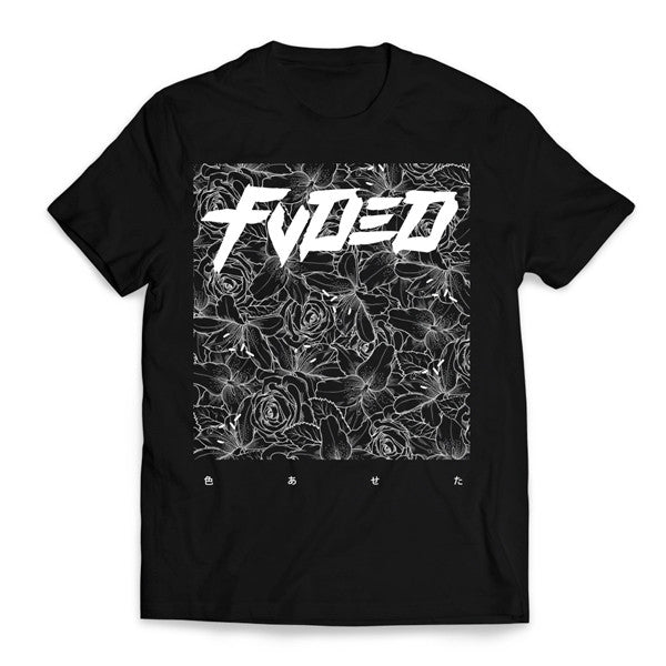 FVDED FLORAL T-SHIRT