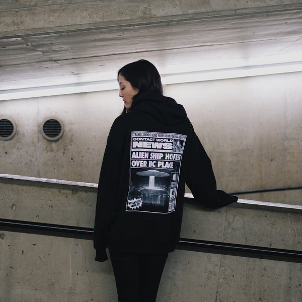 Contact 2019 Festival Hoodie - Black