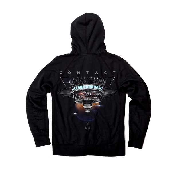 Contact 2016 Official Full Zip Festival Hoodie