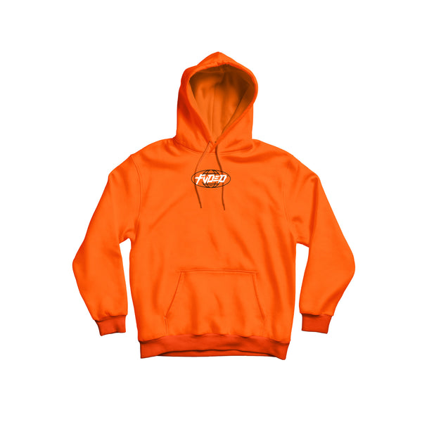 Contact 2019 x FVDED Hoodie - Neon Orange