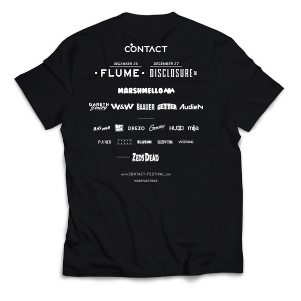 Contact 2016 Official Festival T-Shirt