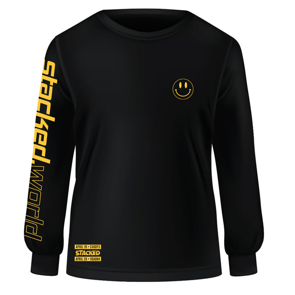 Stacked.World Long Sleeve - Black