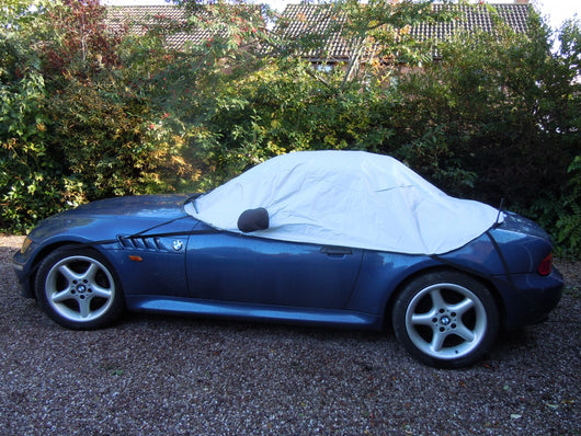 Honda S2000 Waterproof Outdoor Half Car Cover