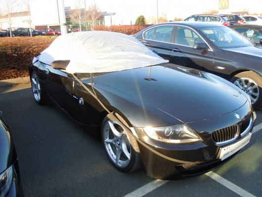 BMW Z4 Waterproof Outdoor Half Car Cover