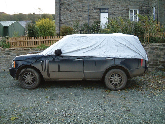 Land Rover Defender Waterproof Outdoor Half Car Cover