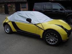 Smart Roadster Waterproof Outdoor Half Car Cover