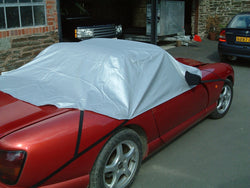 Bentley Turbo Waterproof Outdoor Half Car Cover