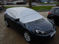 Smart Coupe Waterproof Outdoor Half Car Cover