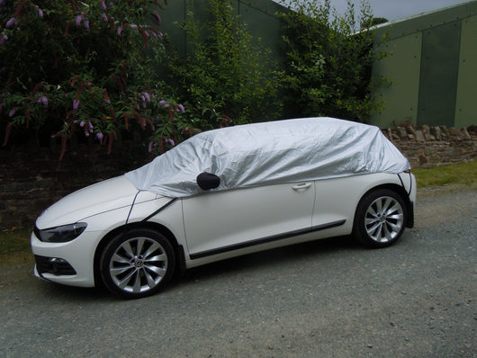 Volkswagen Scirocco Waterproof Outdoor Half Car Cover