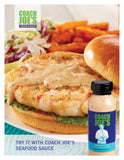 Coach Joe's Seafood Sauce - (12) 8oz (227g) Bottles per Case