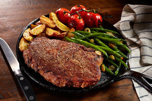 Beef - Coach Joe's Certified Angus Beef® Delmonico 14oz Ribeye (4 In Package)