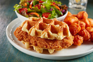 Waffles - Coach Joe's Spicy Fried Chicken Waffle Stacker (24 Count)