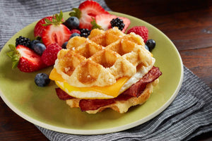 Waffles - Coach Joe's Turkey Bacon, Egg & Cheese Waffle Stacker (24 Count)