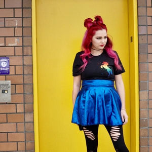 Midnight LADY Skater Skirt
