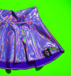 Petty Purple Skater Skirt