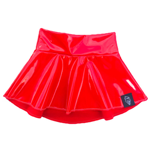 Havoc Red Skater Skirt
