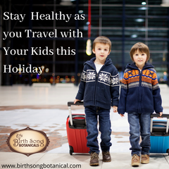 Stay Healthy As You Travel This Holiday With Your Kids