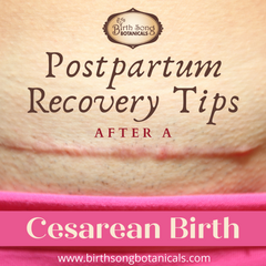 Postpartum Recovery Tips for After a Cesarean Section