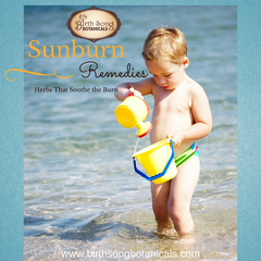 Treat a Sunburn Naturally