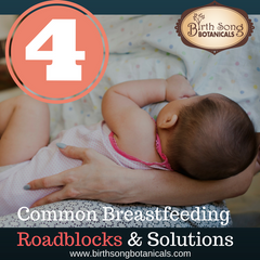 4 Common Breastfeeding Roadblocks and Solutions