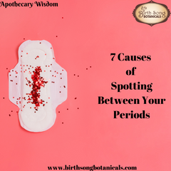 7 Causes of Spotting Between Your Periods
