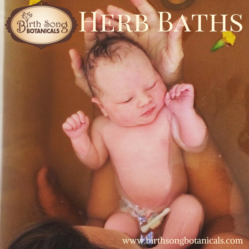 All About Herb Baths