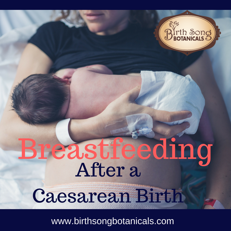Breastfeeding After a C-Section