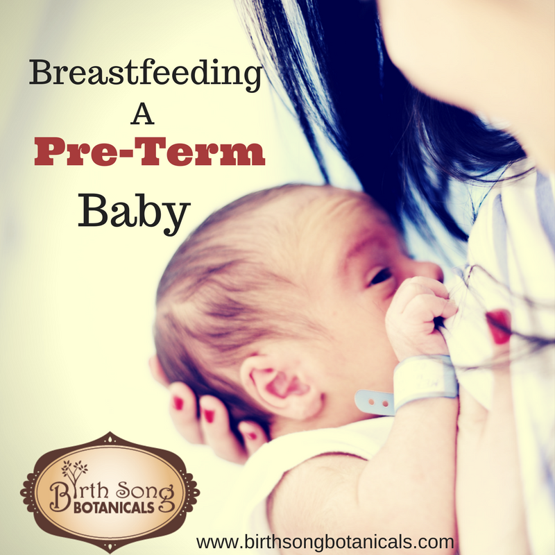 Breastfeeding a Pre-Term Baby