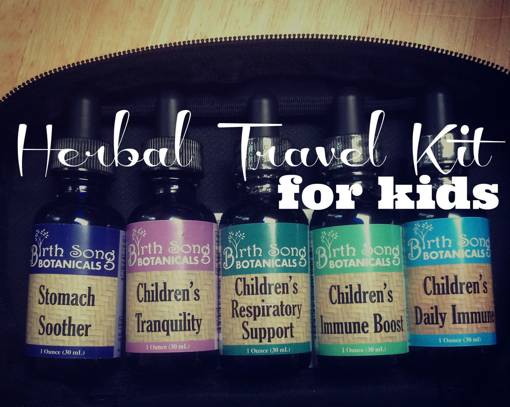 Making a Children's Herbal Travel Kit