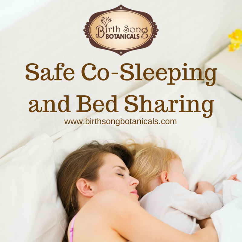 Safe Co Sleeping with Your Baby
