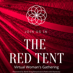 The Red Tent- Enter the Heart and Womb of The Great Mother