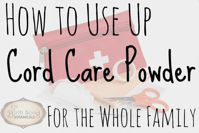 How to Use the Rest of Your Cord Care Powder