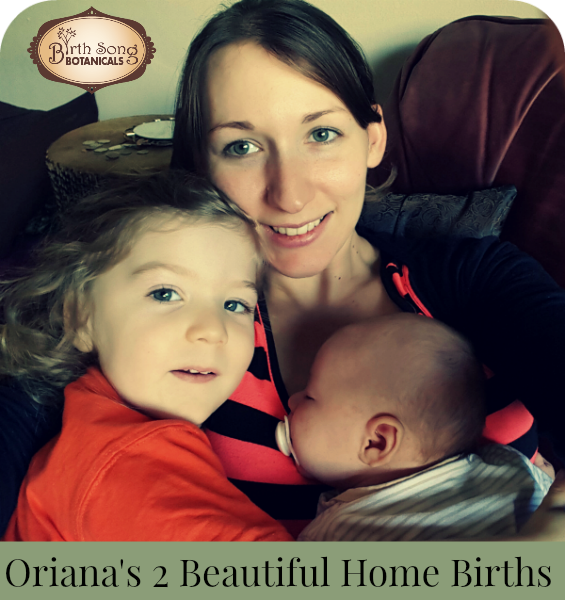 Oriana's Beautiful Home birth Story