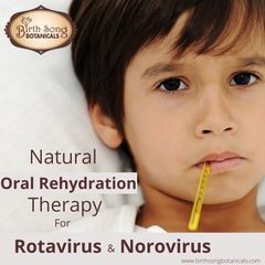 Natural Oral Rehydration Therapy for Rotavirus and Norovirus