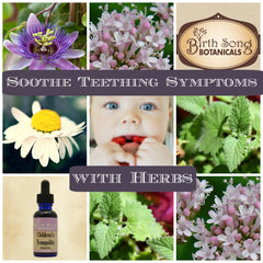 4 Herbs that Soothe Teething Symptoms