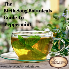 The Birth Song Botanicals' Guide to Peppermint