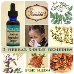 5 Herbal Cough Remedies For Kids