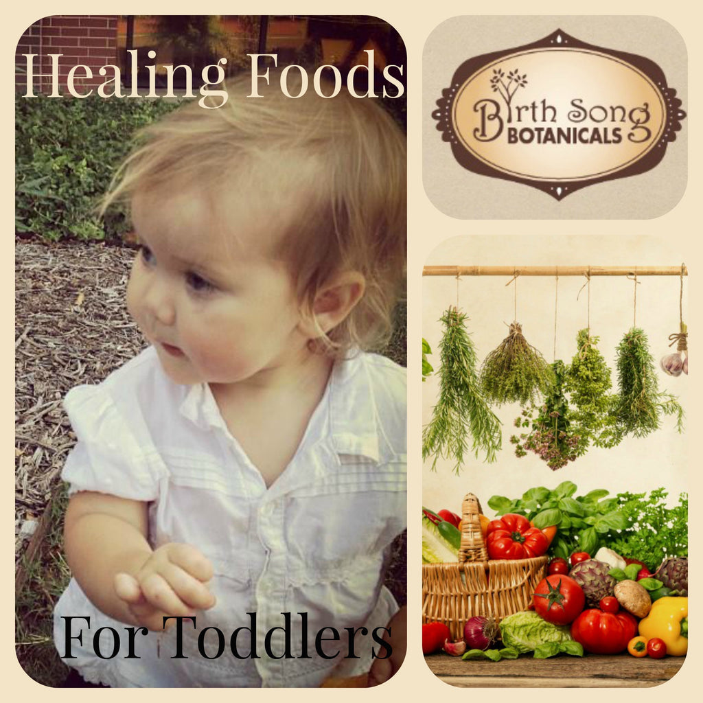 Healing Foods for Toddlers