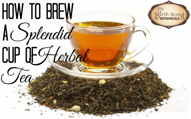 How to Brew Herbal Tea