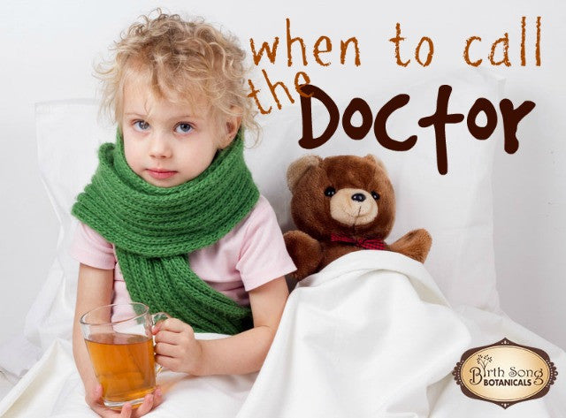 When to Seek Medical Help if Your Child Is Sick