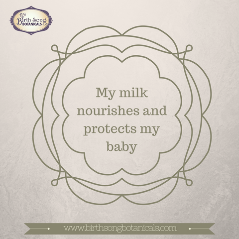 breastmilk nourishes my baby